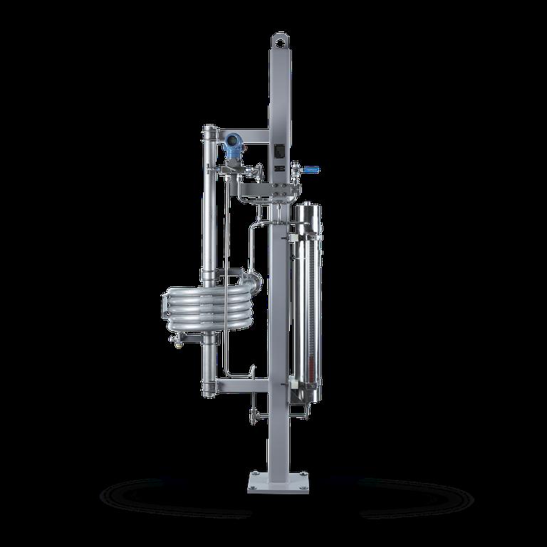 SPC6 Sperrflüssigkeits-<br/>system mit Druckübersetzer